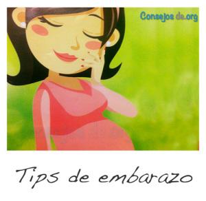Tips de embarazo
