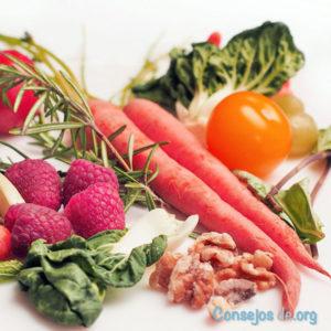 Verduras frescas para el consumo humano