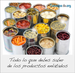 productos enlatados